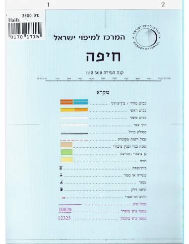 Haifa térkép