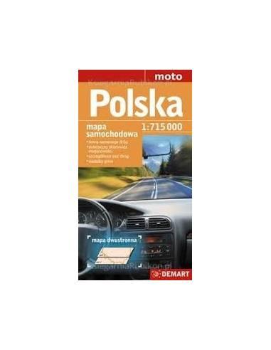Lengyelország autótérkép