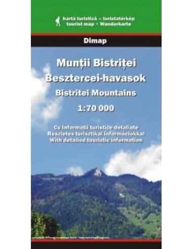 Besztercei-havasok térkép - Munţii...