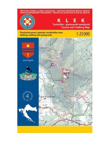 HG 04 Klek térkép