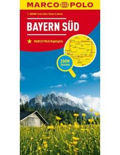 Bajorország dél -...