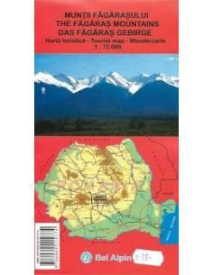 Fogarasi-havasok térkép...