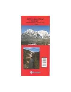 Bucsecs-hegység térkép...