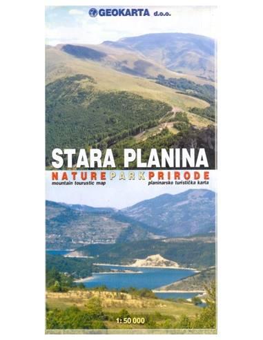 Stara Planina (Midzor) turistatérkép...