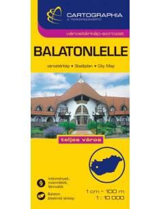 Balatonlelle várostérkép