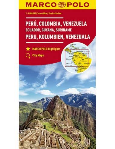 Peru, Kolumbia, Venezuela, Ecuador,...