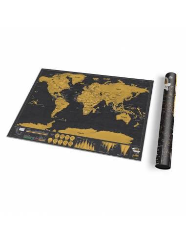 Kaparós világtérkép deluxe - A/3 -...