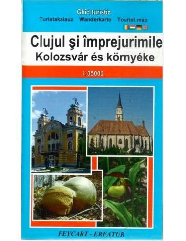 Kolozsvár és környéke térkép és...