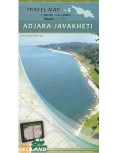 Adjara -Javakheti térkép...