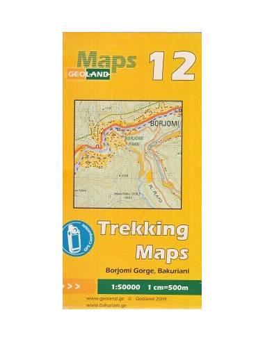 Borjomi Gorge-Bakuriani Trekking Maps...