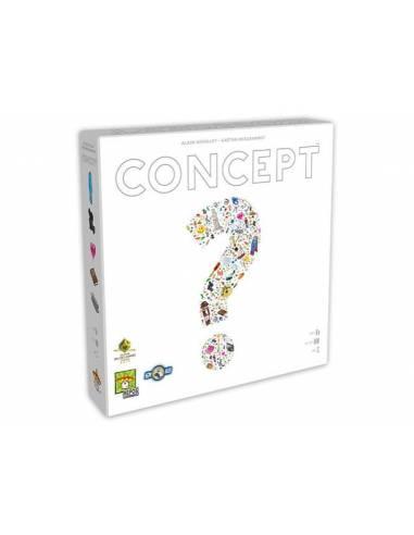 Concept társasjáték - MAGYAR!