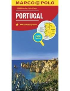 Portugália térkép - MARCO POLO