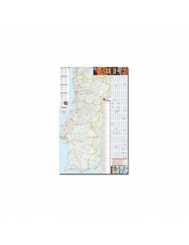Portugália lakókautóval térkép -...