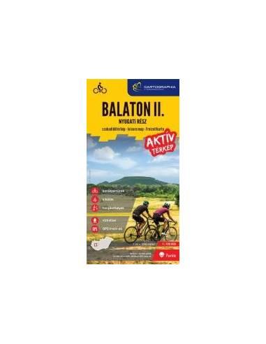 Balaton II.-nyugati rész aktív térkép