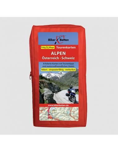 Alpok (Ausztria - Svájc) motoros...