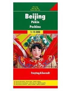 Beijing - Peking térkép