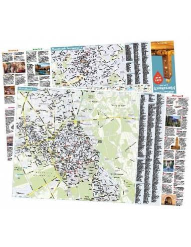 Marrakesch– Urlaubskarte EASY MAP -...