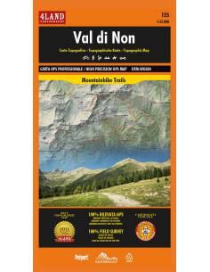 4LAND-155 Val di Non térkép