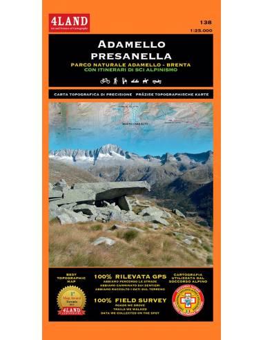 4LAND-138 Adamello - Presanella térkép