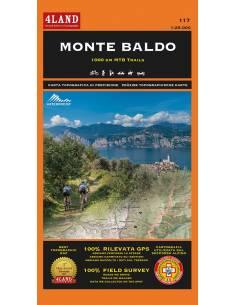 4LAND-117 Monte Baldo térkép