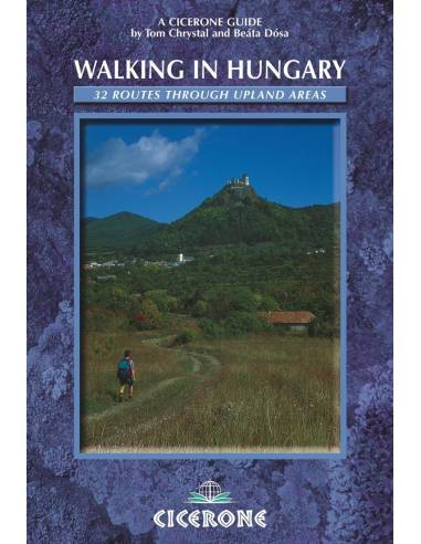Walking in  Hungary túrakönyv