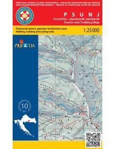 HG 10 Psunj térkép