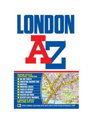London street atlasz A-Z