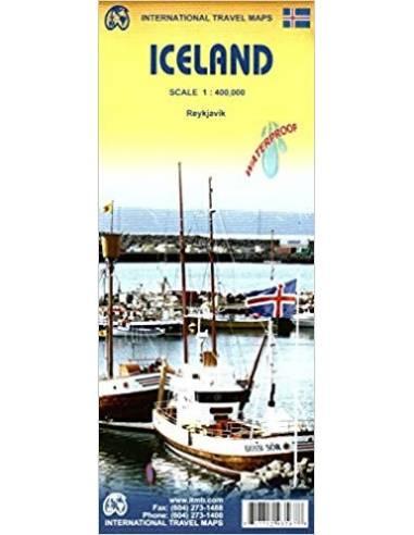 Iceland - Izland térkép