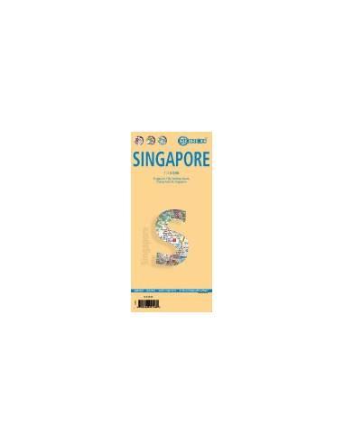 Singapore - Szingapúr térkép -...
