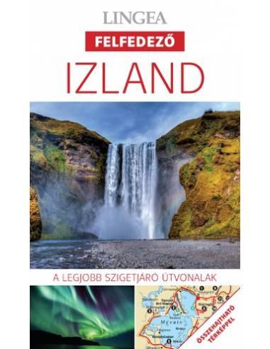 Izland - Felfedező útikönyv + térkép...