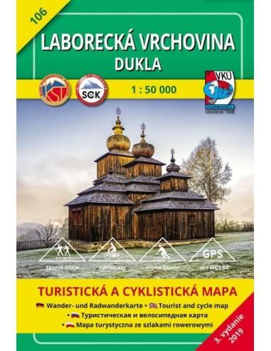 TM 106 Laborcai-hegység - Duklai-hágó...