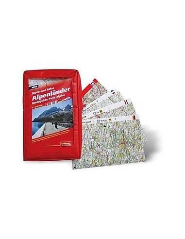 Alpenlander Motorrad-Atlas - Alpok...