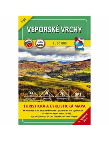 TM 134 Vepor-hegység turistatérkép -...