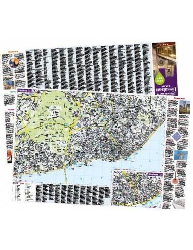 Lisszabon – Urlaubskarte EASY MAP