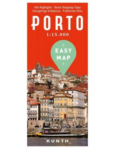 Porto – Urlaubskarte EASY MAP