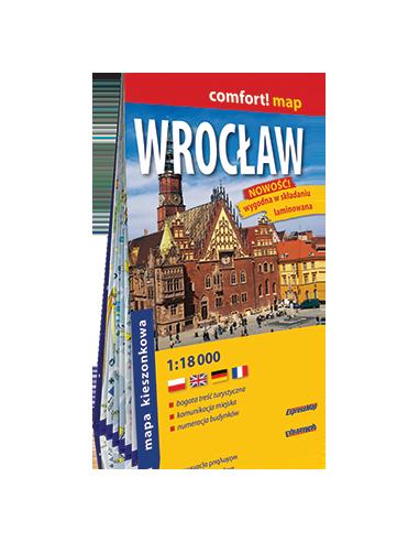 Wroclaw zsebtérkép - Comfort! map