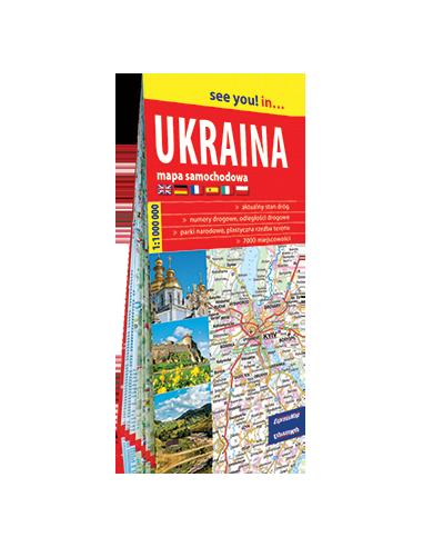 Ukraina - Ukrajna térkép