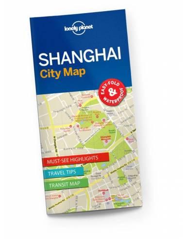 Shanghai várostérkép - Lonely Planet