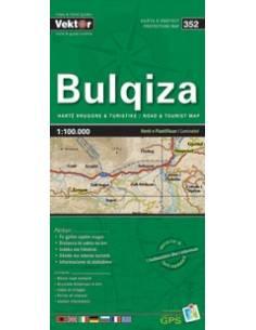 Bulqiza autós túristatérkép...