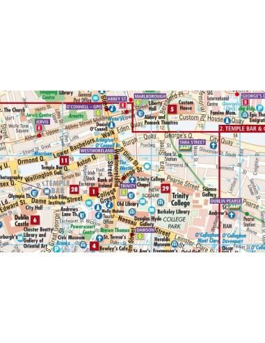 Dublin térkép - (laminált) - BORCH