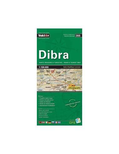 Dibra autós túristatérkép (355) laminált