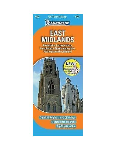 MN 607 East Midlands térkép