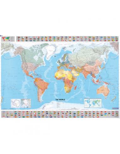 MN 12701 Világtérkép politikai...