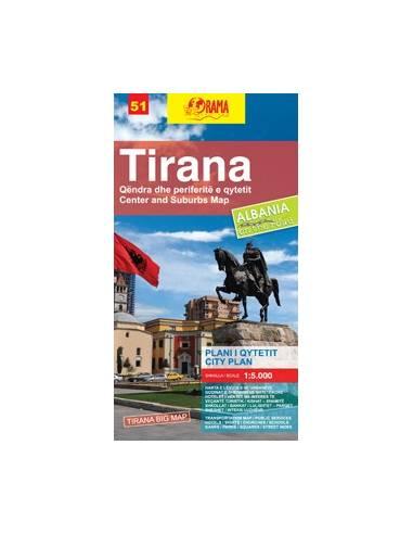 Tirana  térkép (51) Big Map