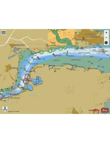 Themze (Navigációs: Canvey - Tilbury)