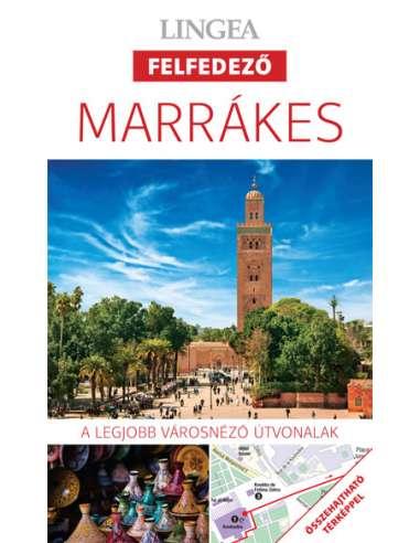 Marrakes - Felfedező útikönyv + térkép