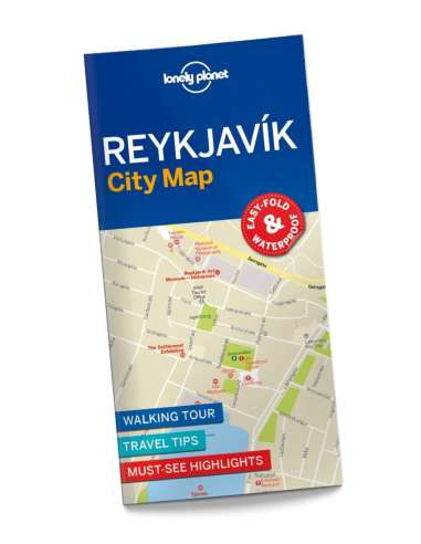 Reykjavik city map - Lonely Planet