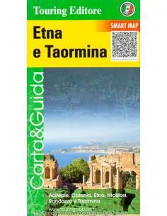 Etna és Taormina térkép