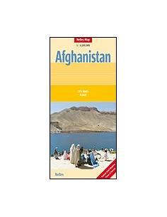 Afganisztán térkép -...