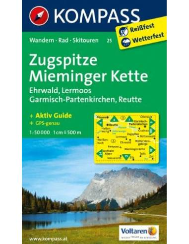 KK 25 Zugspitze - Mieminger Kette -...